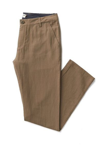 Bridge & Burn straight fit chinos Tabor olive drab