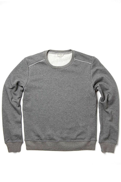 Bridge & Burn nina grey women's plain crew neck sweatshirts