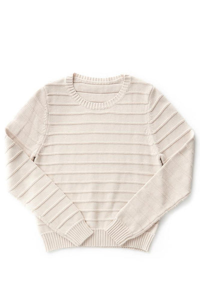 Bridge & Burn owen ribbed sweater women's