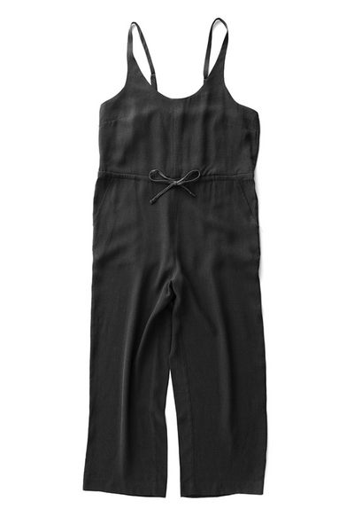 Bridge & Burn cropped wide leg jumpsuit Otto Black