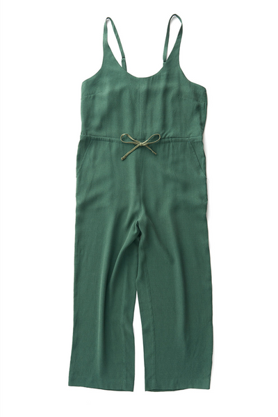 Bridge & Burn cropped wide leg jumpsuit Otto Palm
