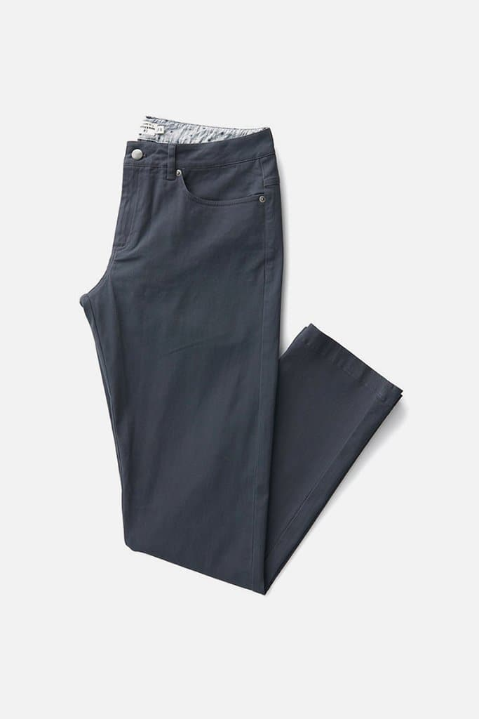 Bridge & Burn polk charcoal mens slim pants