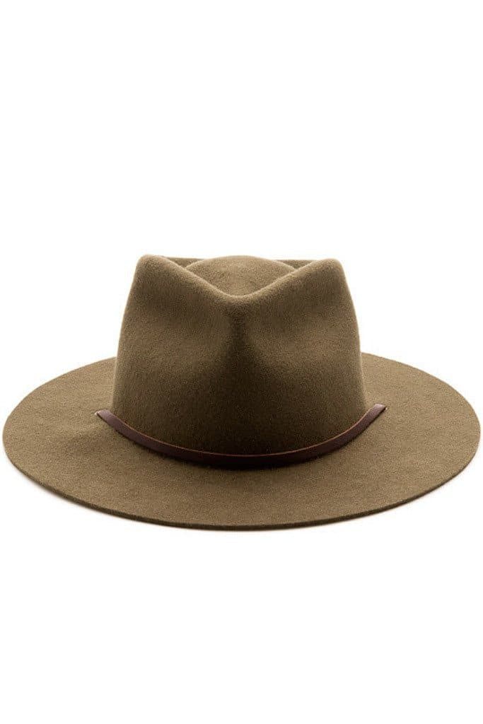 Eastwood Hat Olive Wool
