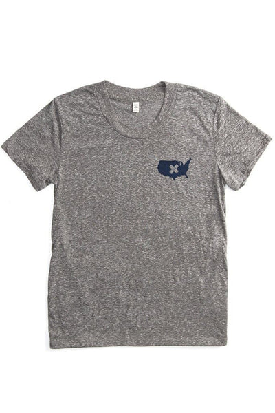 Women's Heal US Protest Tee Grey