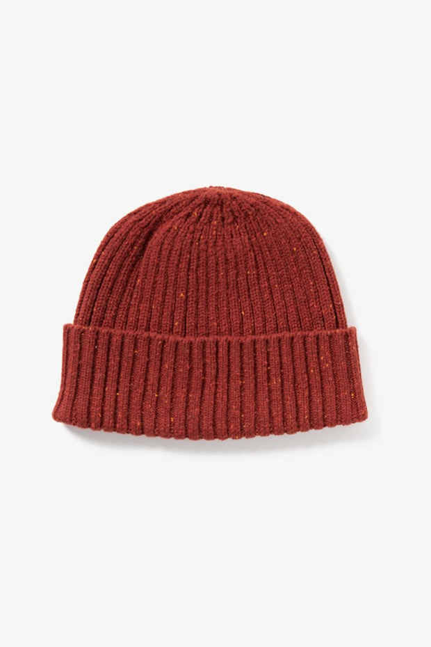 Chunky Ribbed Beanie Red