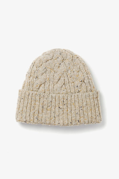 Cable Beanie Oatmeal