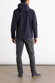 Stanton Recycled Rain Jacket Navy