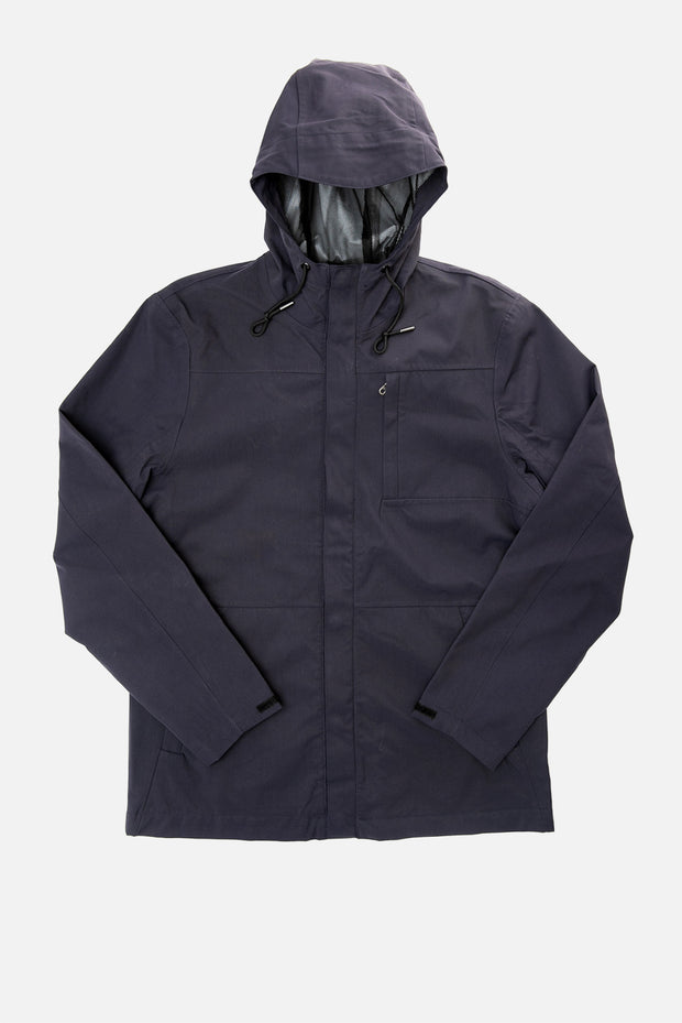 Men's Recycled Nylon Waterproof Rain Jacket by Bridge & Burn