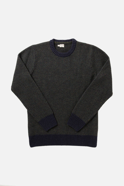 Brighton Wool Sweater Navy