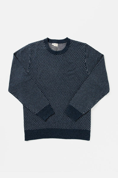 Cyrus Navy Heather