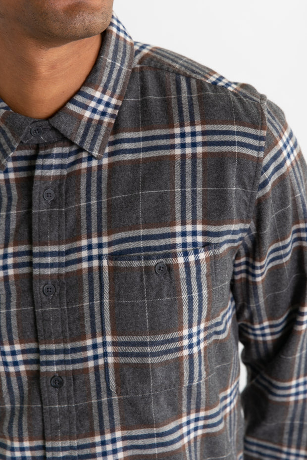 Winslow Charcoal Plaid