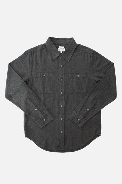 Winslow Charcoal Flannel