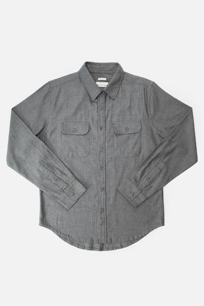 Cole Charcoal Herringbone