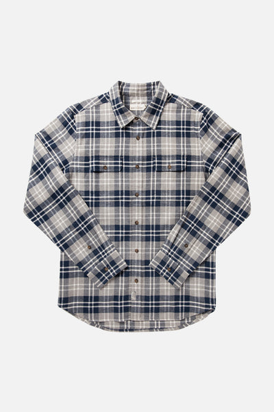 Cole Navy-Grey Plaid
