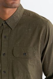 Cole Dark Olive Donegal