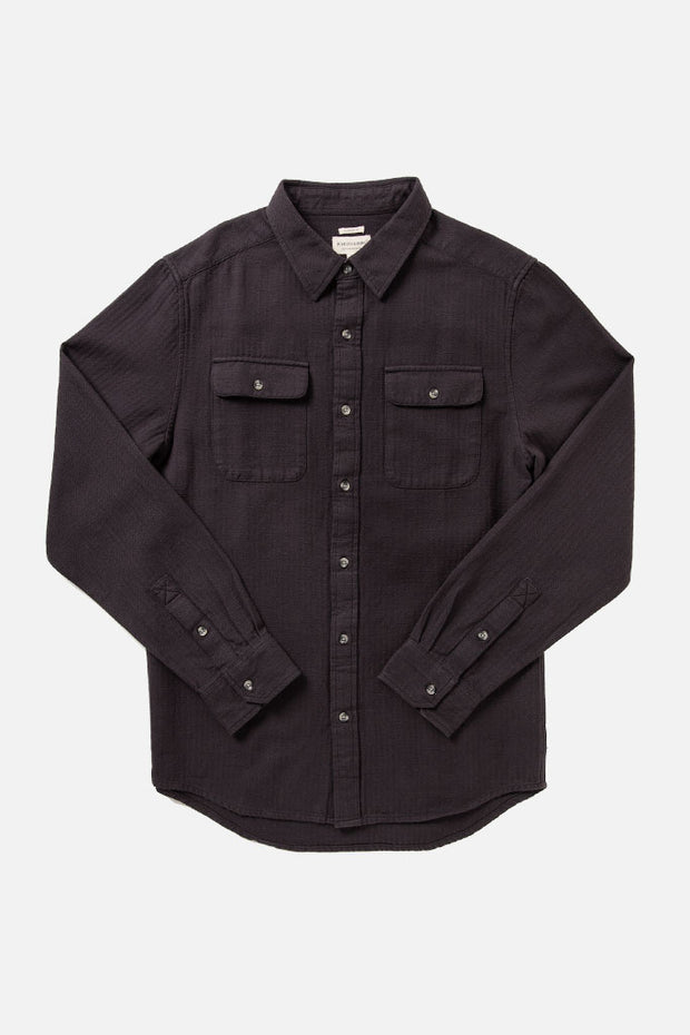 Men's Organic Cotton Heavyweight Herringbone Shirt