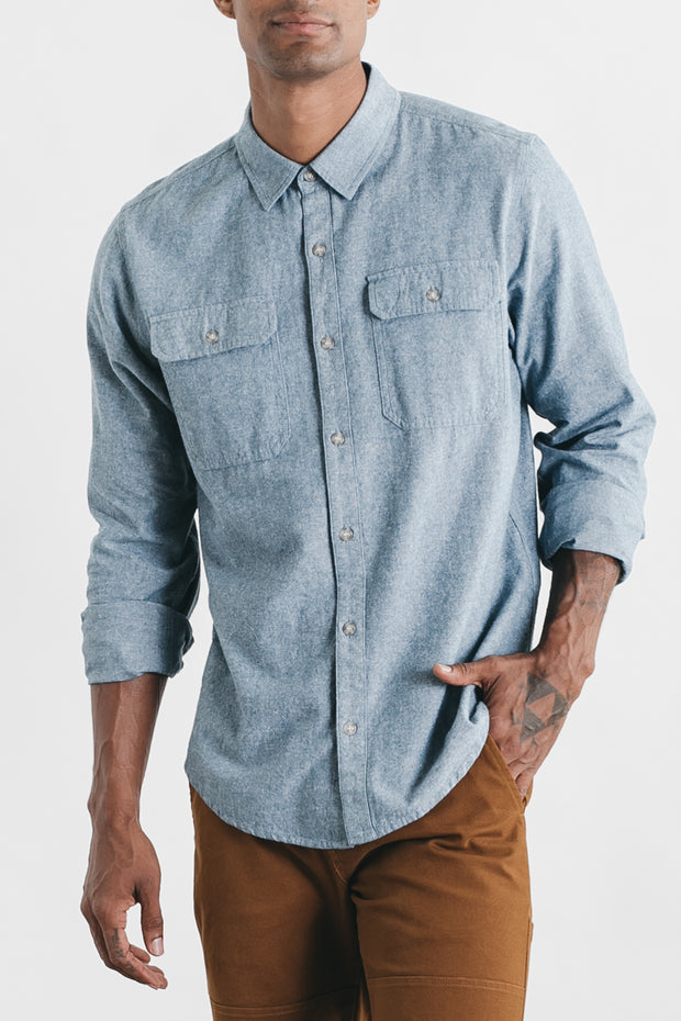 Eugene Blue Chambray