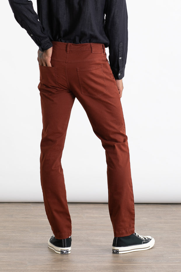 Bradley Slim Fit Burgundy