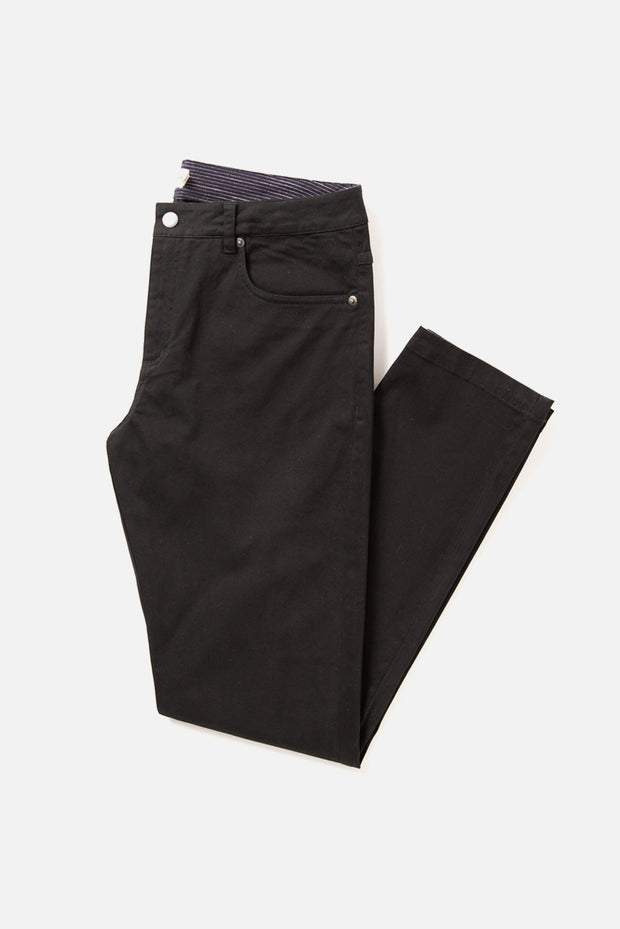 Bradley Slim Fit Men's Pants Black