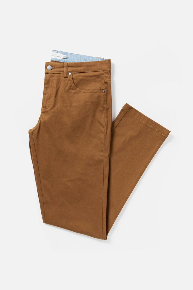 Men's Amber Straight Fit Cotton-blend Pant