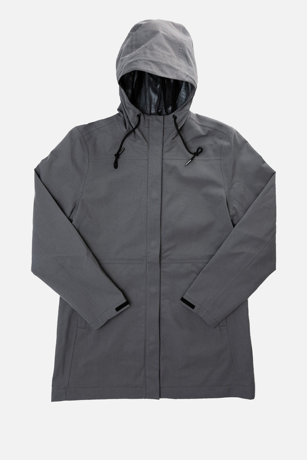 Women's Recycled Waterproof Rain Jacket by Bridge & Burn