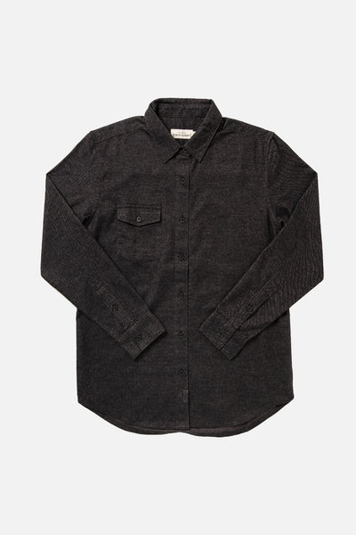Bird Charcoal Flannel