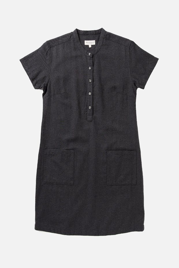 Mariam Charcoal Flannel