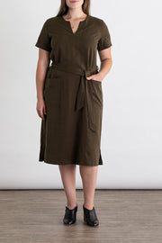 Women's Tencel Dress Olive