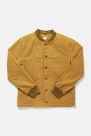 Men's Yellow Waxed Canvas Varsity Jacket