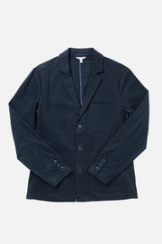 Men's Navy Casual Cotton Blazer