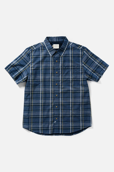 Harbor Navy Plaid