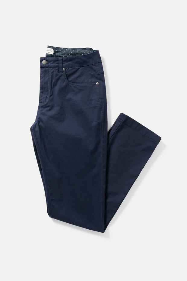 Men's Bright Navy Slim-Fit Chino Pants