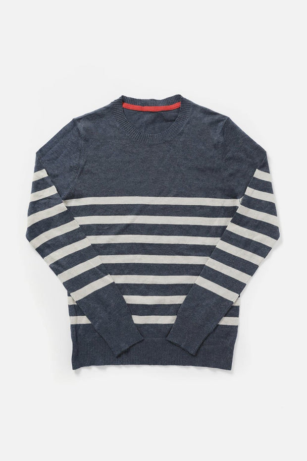 Tate Navy Stripe