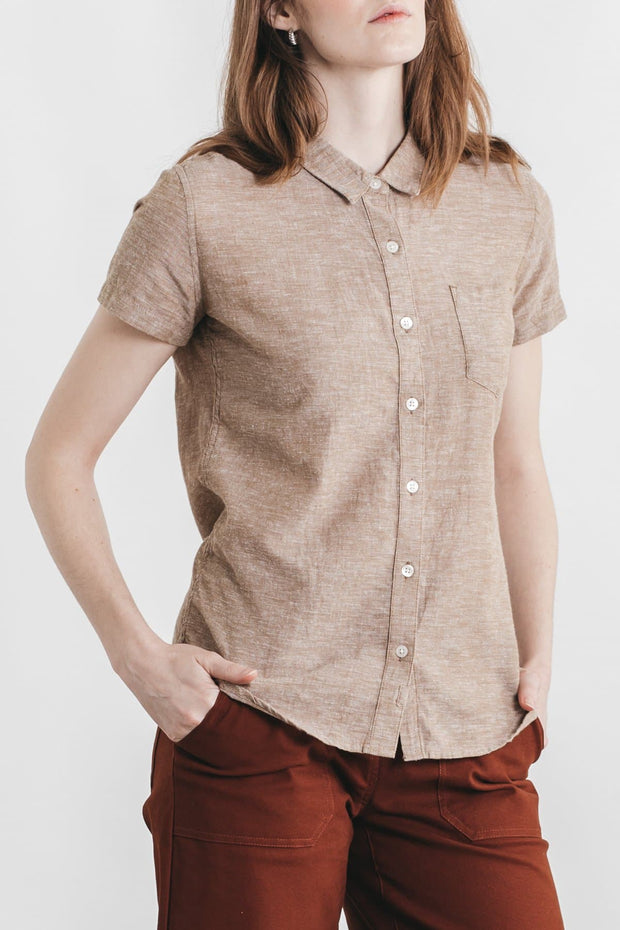 Lana Bronze Chambray