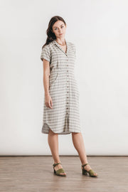 Dolores Wide Striped Doublecloth