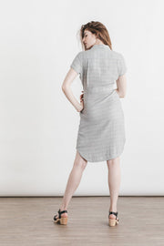 Dolores Narrow Striped Doublecloth