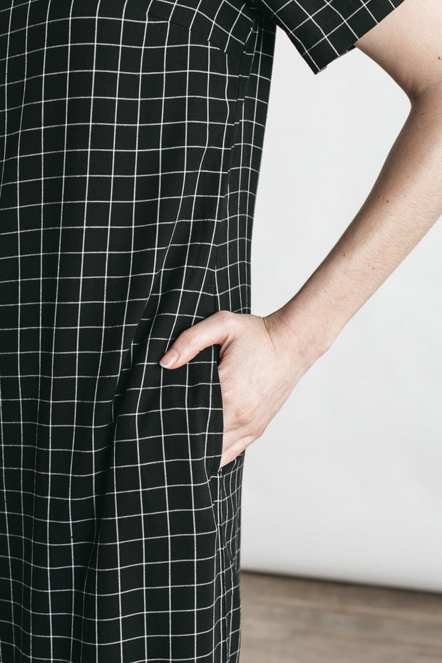 Marisol Black Windowpane