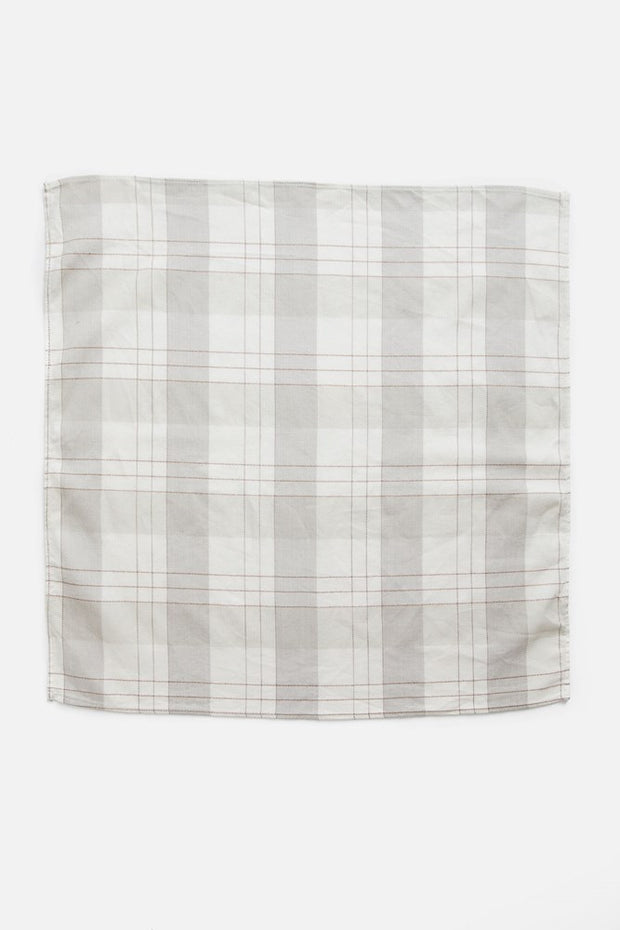Bandana Ivory Plaid