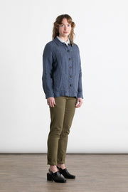 Boardman Blue Linen Chambray