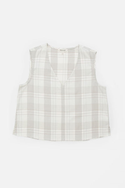 Tess Ivory Plaid