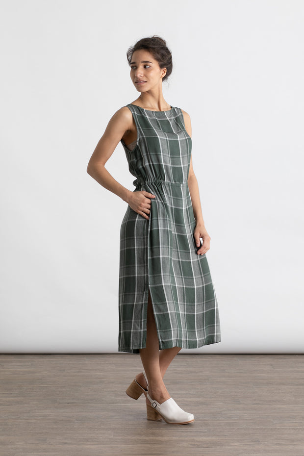 Liesel Houndstooth Plaid