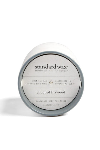 Standard Wax Chopped Firewood Candle