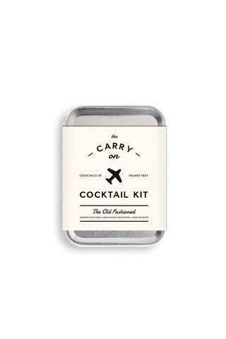 Carry-On Cocktail Kit Old-Fashioned