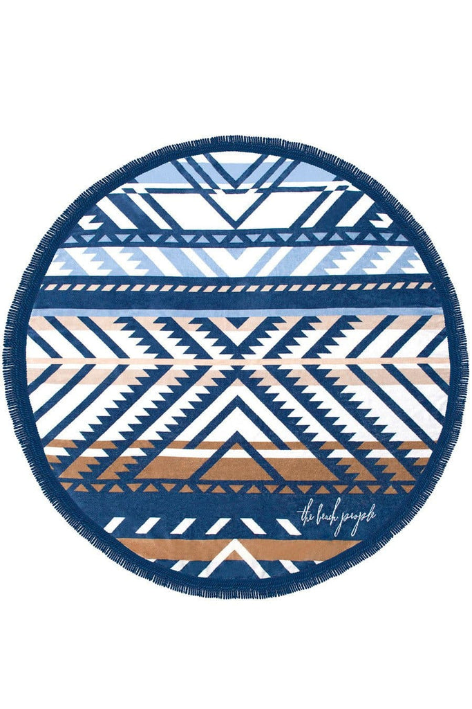 The Beach People Round Towel Lorne