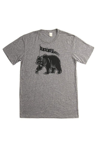 Men's Resist Protest Tee Grey