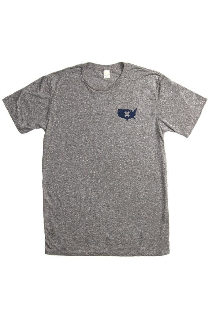 Men's Heal US Tee Grey