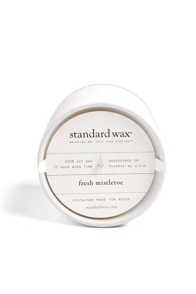 Standard Wax Fresh Mistletoe Candle