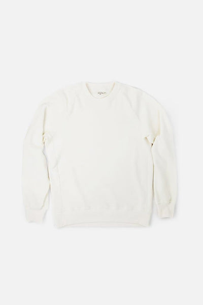Bridge & Burn fremont off-white men's pullover crew neck sweatshirt