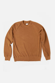 Bridge & Burn fremont ochre men's pullover crew neck sweatshirt
