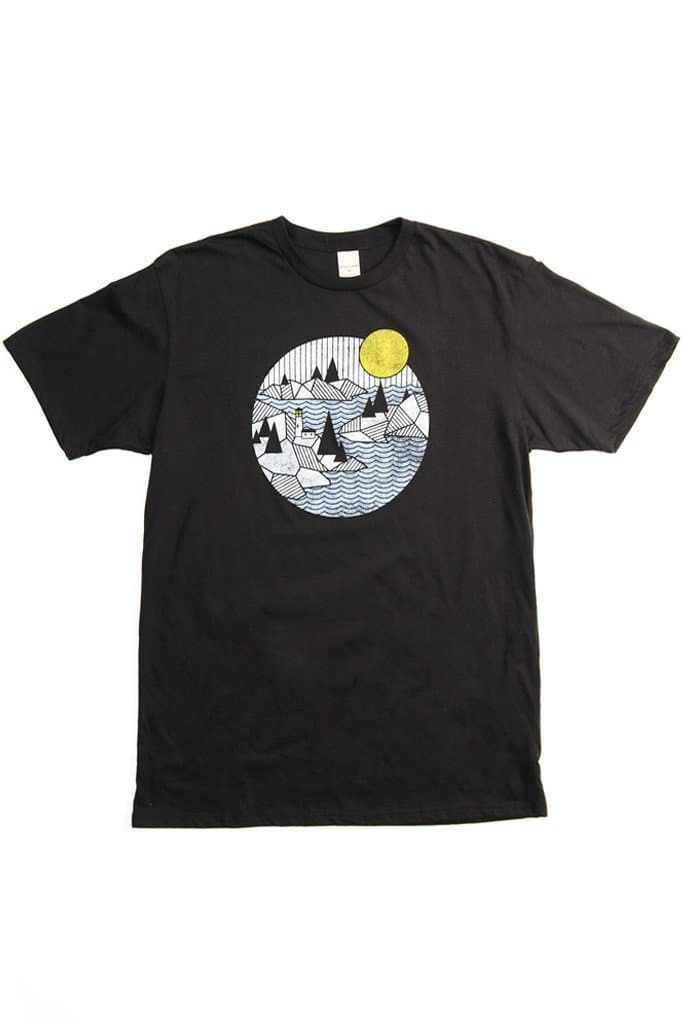 Men's Light House Black